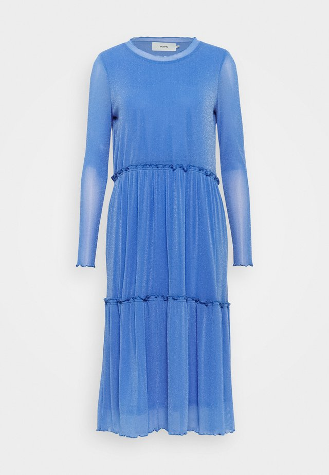 HUMAKKI 0018 - Gebreide jurk - blue moon