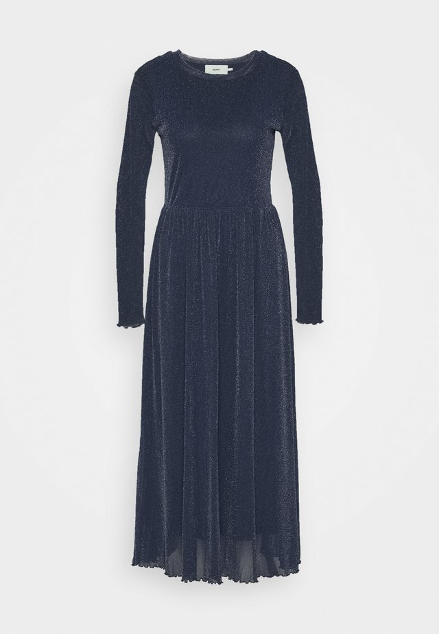 MARISAN - Maxi šaty - navy/blue with silver