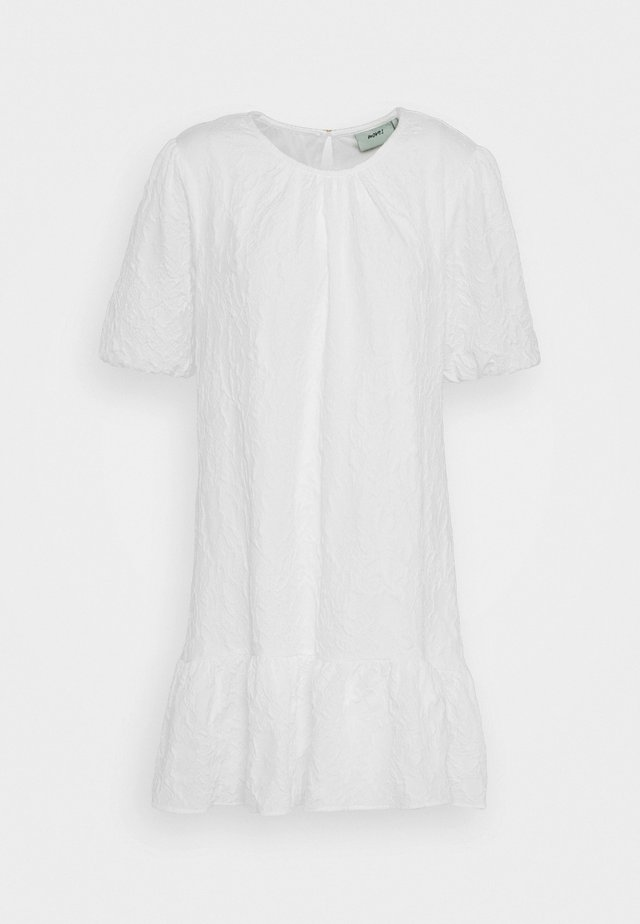 NIRI  - Korte jurk - white