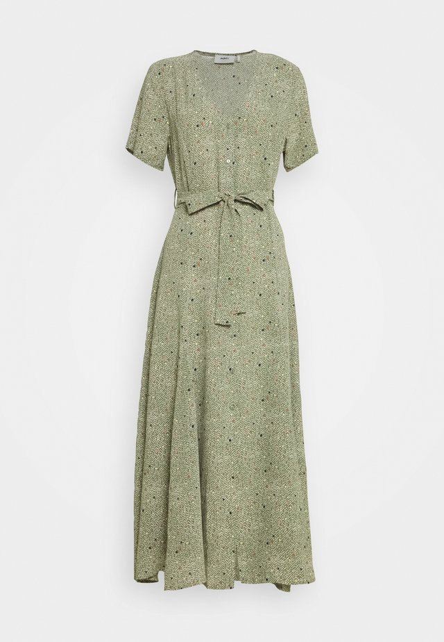 ZALO - Sukienka koszulowa - vineyard green