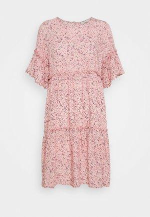 GIRAL SHORT DRESS - Denní šaty - cashmere rose