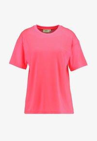 Moves - ZILVA - Basic T-shirt - neon pink - 3
