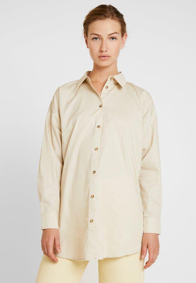 FROMM - Button-down blouse - cobblestone