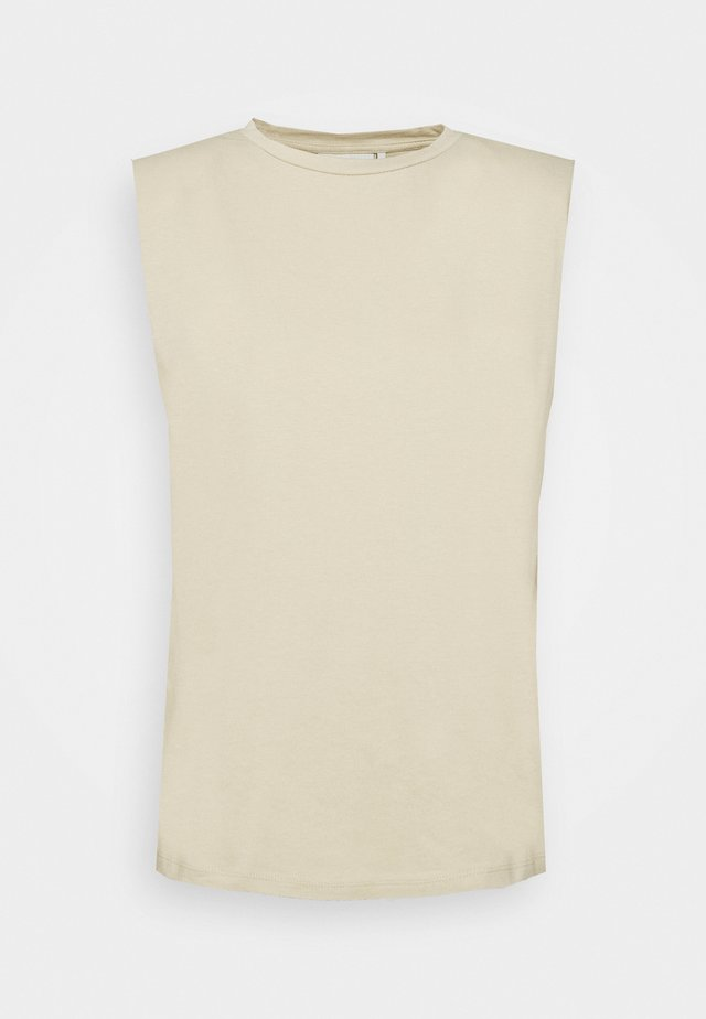 IMMA - Basic T-shirt - taupe