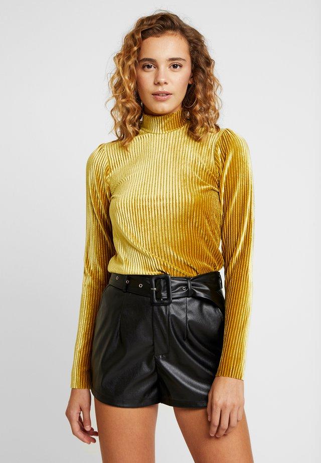 OLAJA - Bluzka z długim rękawem - burnished gold