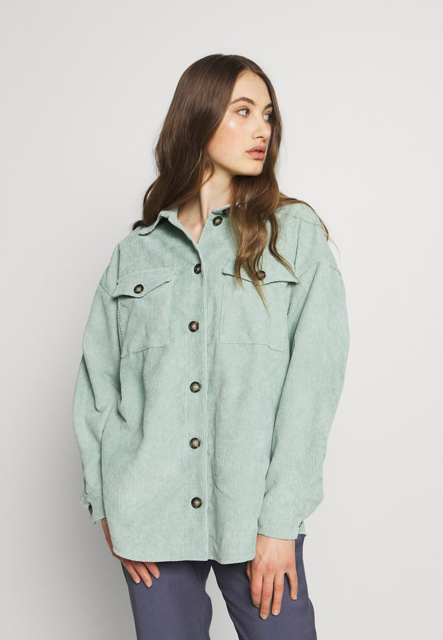 SAVISA - Button-down blouse - mint green