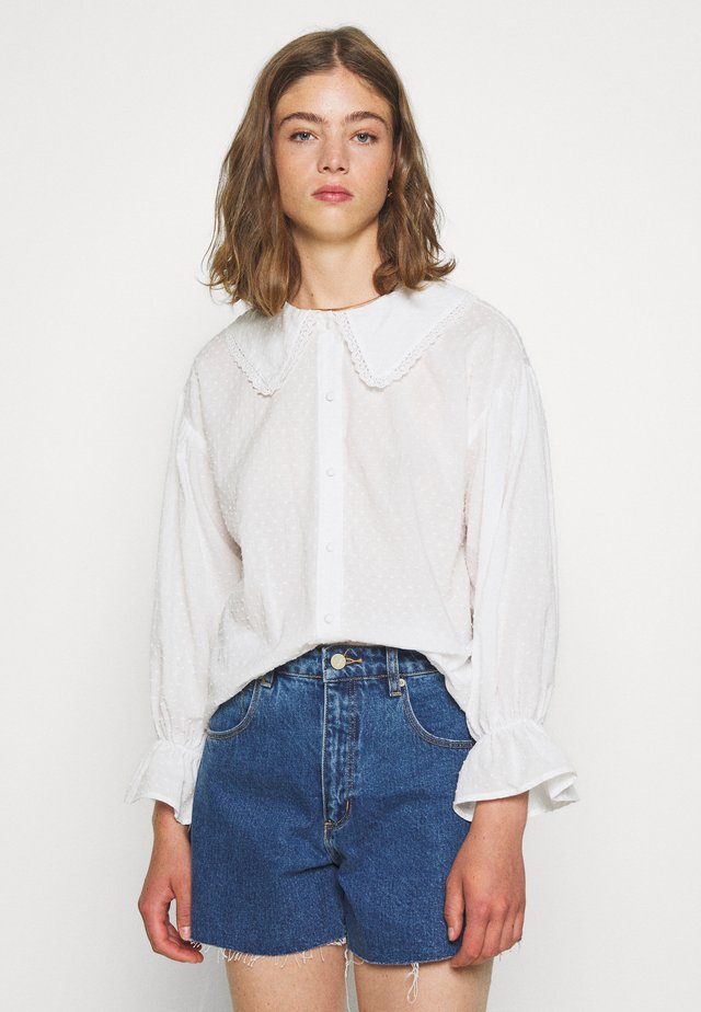 CARRO - Button-down blouse - white