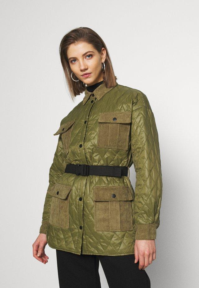 BLOW - Płaszcz wełniany /Płaszcz klasyczny - four leaf clover