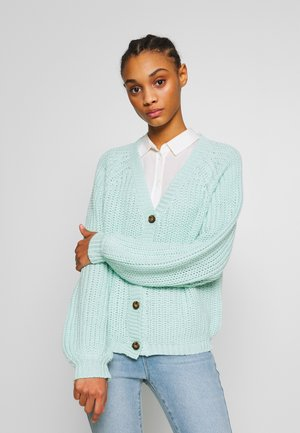 MOMO  - Cardigan - mint green