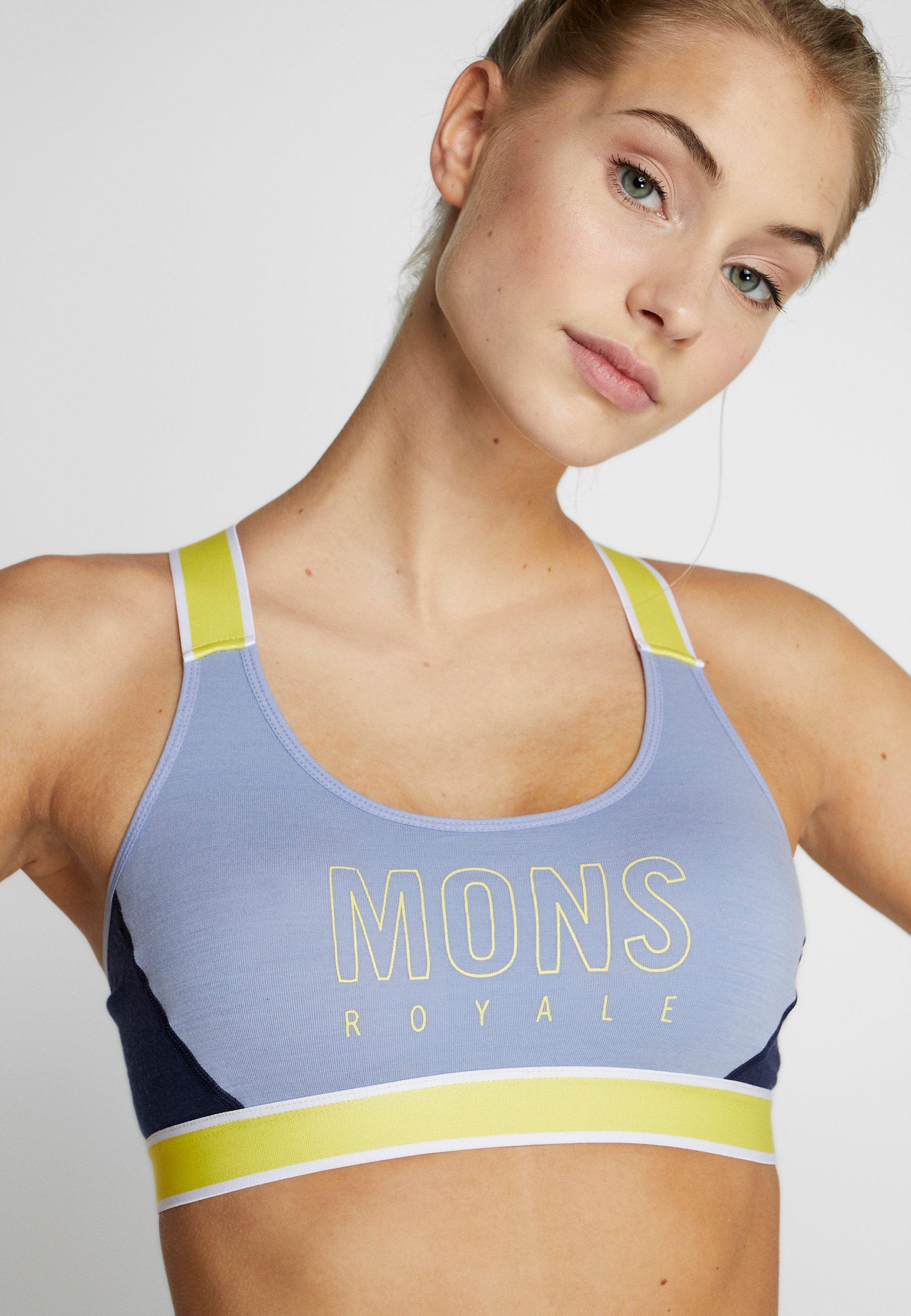 Royale Sportivo Mons BraReggiseno Stella Back X Blue Fog OPkZiXu