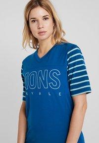 Mons Royale - PHOENIX ENDURO  - Printtipaita - oily blue/horizon stripe - 3