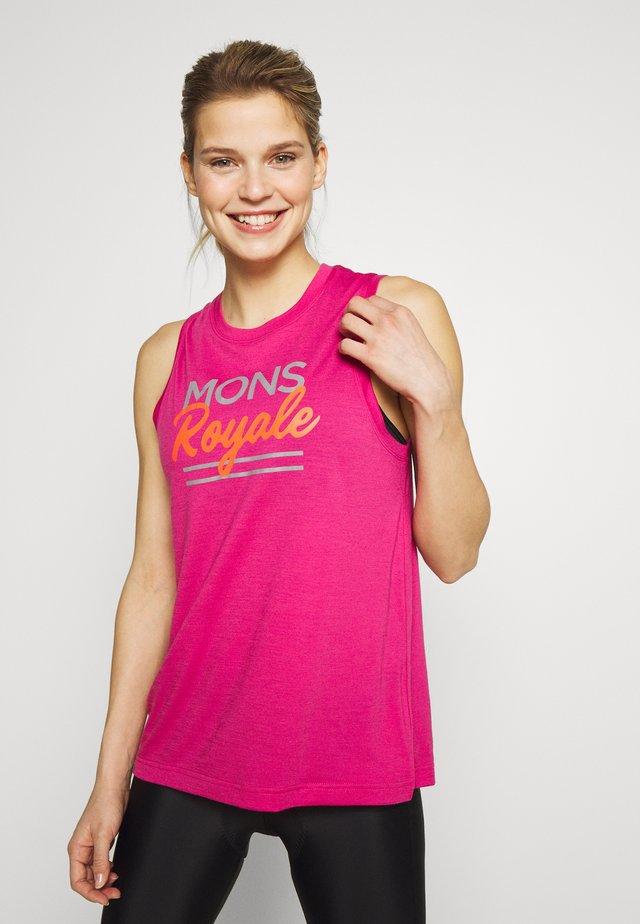 TARN FREERIDE TANK - T-shirt de sport - punk baby