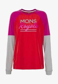 Mons Royale - TARN FREERIDE WIND - Funkční triko - punk baby - 3