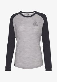 Mons Royale - ICON RAGLAN - Funktionstrøjer - iron /grey marl - 3