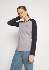 Mons Royale - ICON RAGLAN - Funktionstrøjer - iron /grey marl - 0