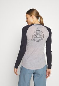 Mons Royale - ICON RAGLAN - Funktionstrøjer - iron /grey marl - 2