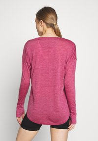 Mons Royale - ESTELLE RELAXED - Long sleeved top - rosewood - 2