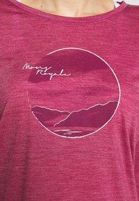 Mons Royale - ESTELLE RELAXED - Langærmede T-shirts - rosewood - 5
