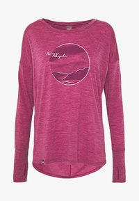 Mons Royale - ESTELLE RELAXED - Long sleeved top - rosewood - 4