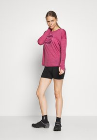 Mons Royale - ESTELLE RELAXED - Long sleeved top - rosewood - 1