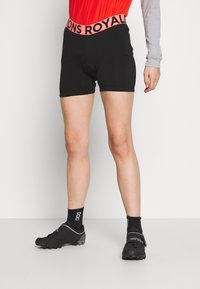 Mons Royale - ROYALE CHAMOIS SHORTS - Tights - black - 0