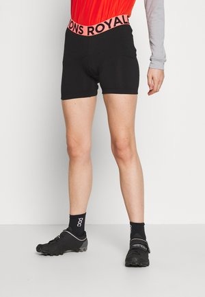 ROYALE CHAMOIS SHORTS - Tights - black
