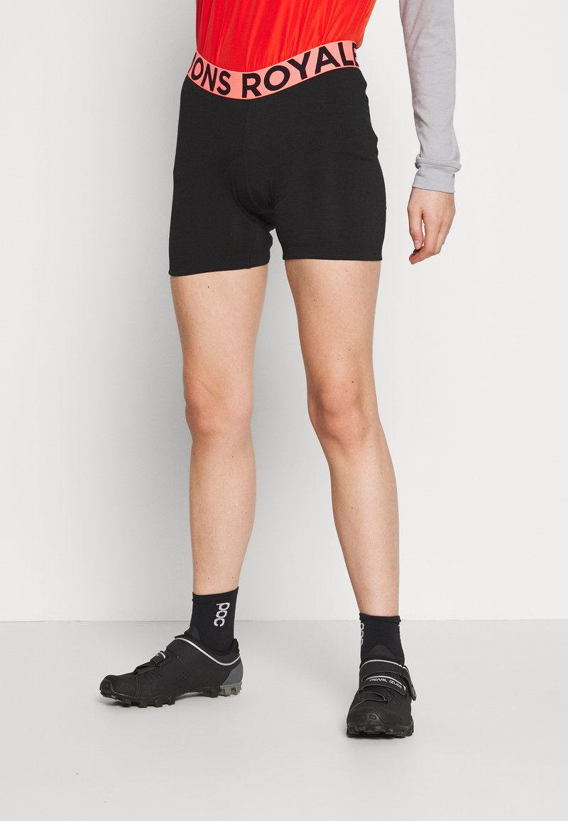 Mons Royale - ROYALE CHAMOIS SHORTS - Tights - black