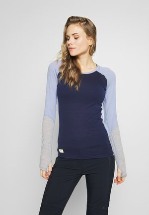 BELLA TECH - Maglietta intima - navy/blue fog/grey marl