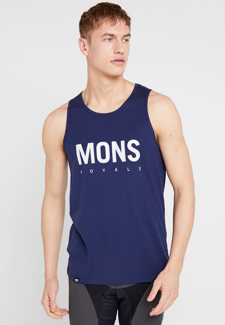 Mons Royale - ICON SINGLET - Sports shirt - navy
