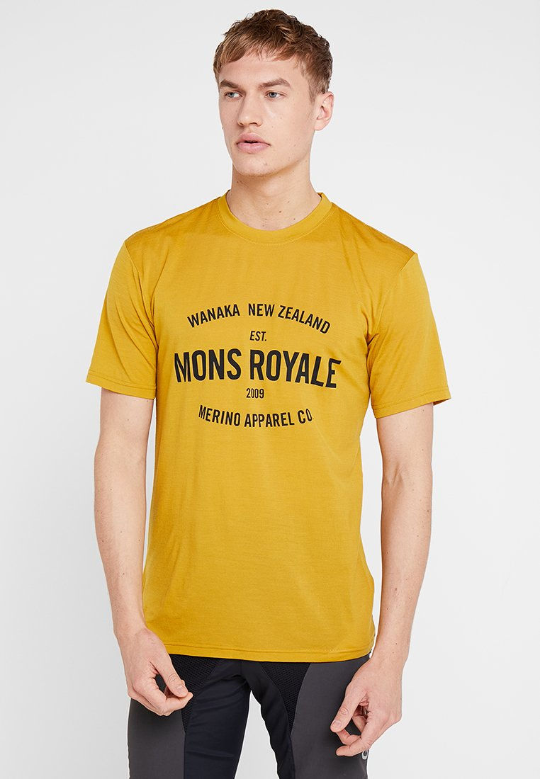 Mons Royale - ICON - Camiseta estampada - turmeric