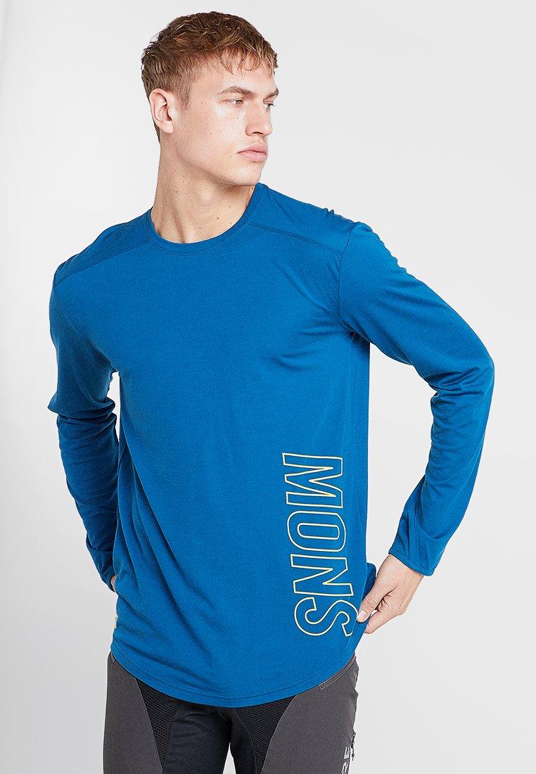 Mons Royale - Tekninen urheilupaita - oily blue