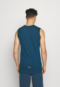 Mons Royale - TEMPLE TECH TANK - Funktionsshirt - atlantic - 2