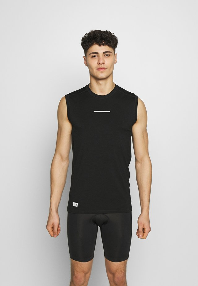 MINTARO TANK - Sports shirt - black