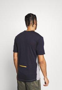 Mons Royale - CADENCE - T-Shirt print - iron/grey marl - 2