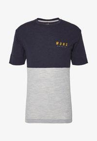 Mons Royale - CADENCE - T-Shirt print - iron/grey marl - 4