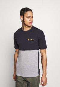 Mons Royale - CADENCE - T-Shirt print - iron/grey marl - 0