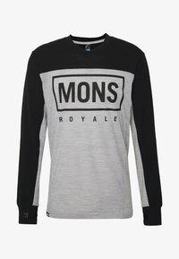 Mons Royale - REDWOOD ENDURO - Funktionstrøjer - black/grey marl - 3