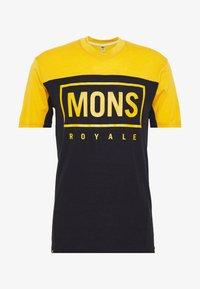 Mons Royale - REDWOOD ENDURO - T-shirts print - gold/iron - 3