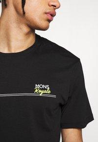 Mons Royale - TARN FREERIDE - Triko spotiskem - black - 4