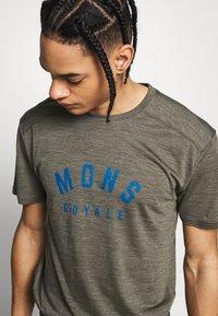 Mons Royale - VAPOUR - T-shirts print - olive - 4