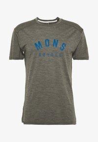 Mons Royale - VAPOUR - T-shirts print - olive - 3