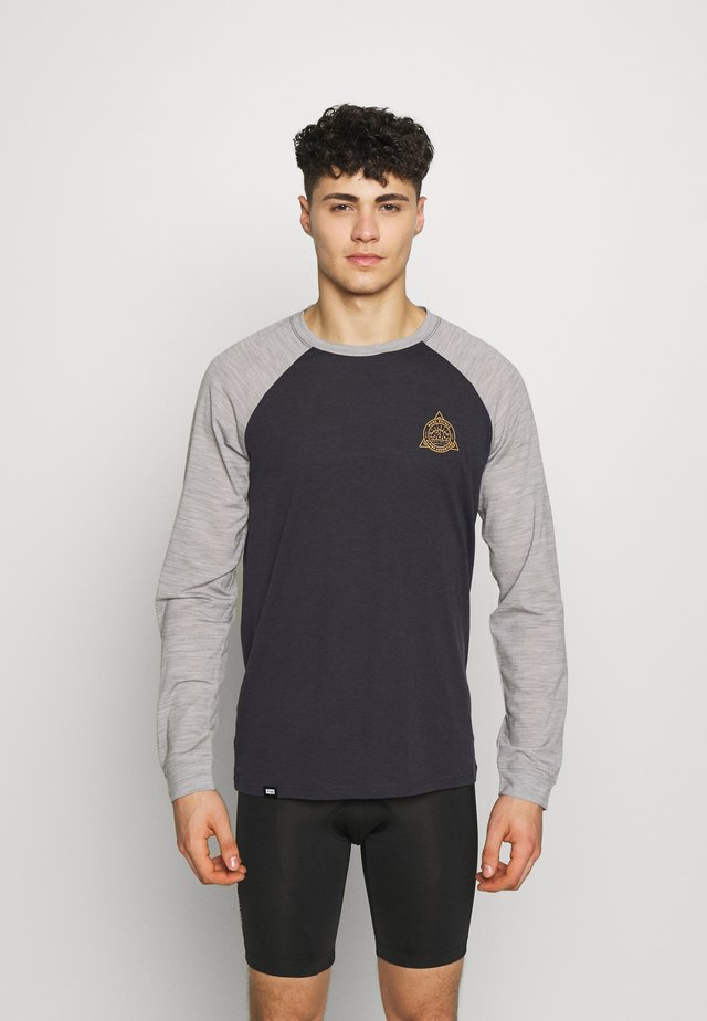 ICON RAGLAN - T-shirt sportiva - iron/grey marl