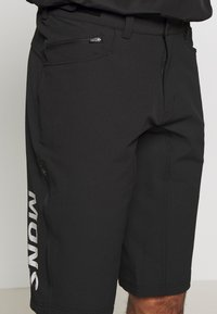 Mons Royale - MOMENTUM BIKE SHORTS - Outdoor shorts - black - 5