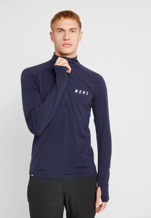 OLYMPUS HALF ZIP - T-shirt sportiva - navy
