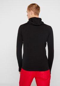Mons Royale - OLYMPUS HOOD - Camiseta de deporte - black - 2