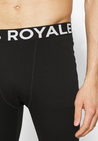 Mons Royale - DOUBLE BARREL LEGGING - Caleçon long - black - 4