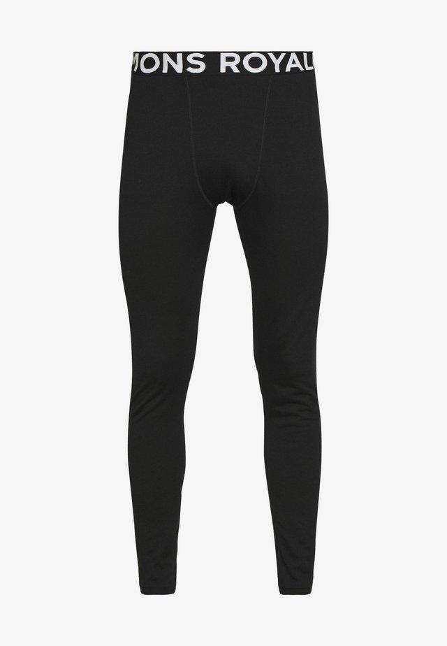 DOUBLE BARREL LEGGING - Pitkät alushousut - black