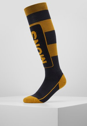 TECH CUSHION  - Chaussettes de sport - iron/gold