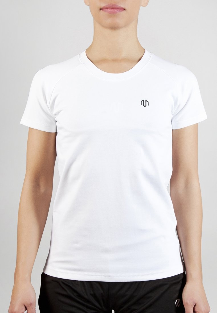MOROTAI - PREMIUM BASIC LOGO - Basic T-shirt - white