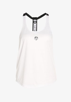 NAKA PERFORMANCE STRINGER - Sportshirt - white
